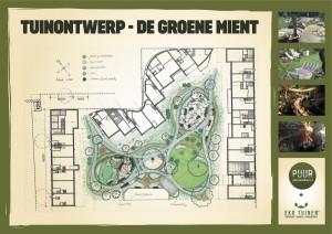 Tuin ontwerp Groene Mient Puur Permacultuur